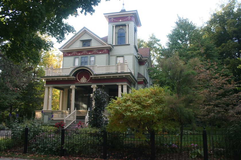 The Frederick Koenig House, designed by Henry Messmer and built in 1883.